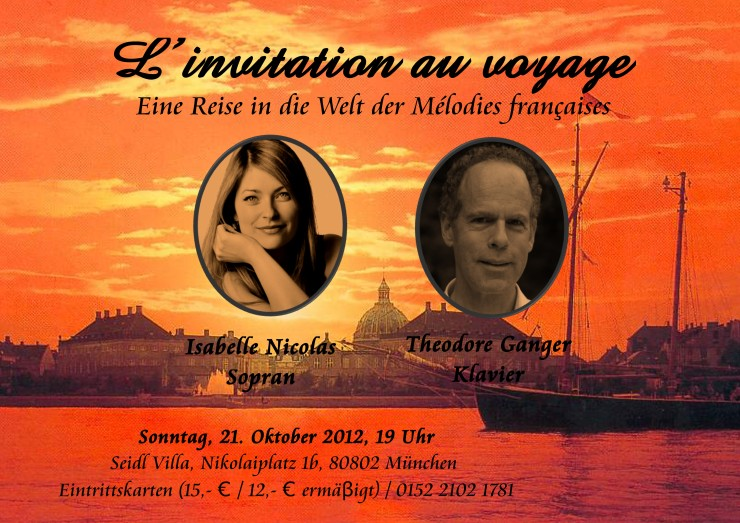 Poster L'invitation au voyage (2)