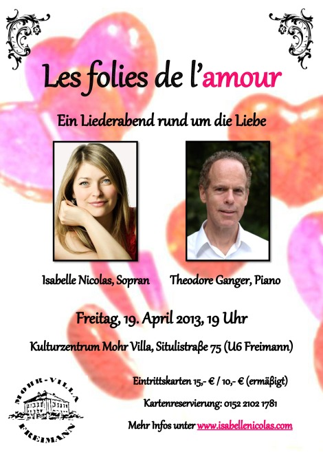 Les folies Poster 19 avril 2013