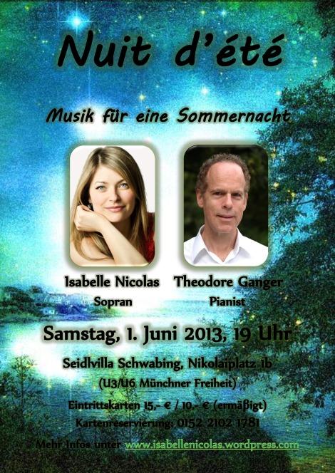 Nuit d'été Poster